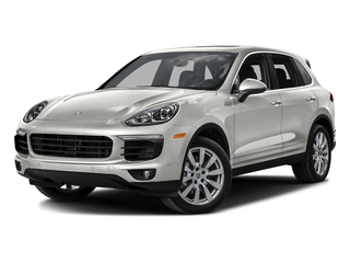 White 2016 Porsche Cayenne Pictures Cayenne Utility 4D S AWD V6 Turbo photos front view