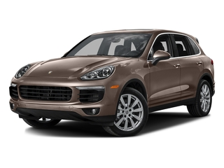 Umber Metallic 2016 Porsche Cayenne Pictures Cayenne Utility 4D S AWD V6 Turbo photos front view