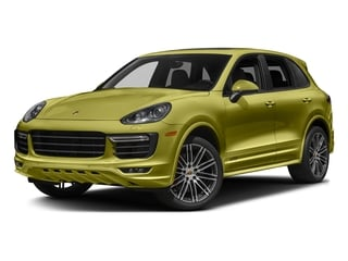 Peridot Metallic 2016 Porsche Cayenne Pictures Cayenne Utility 4D GTS AWD V6 Turbo photos front view