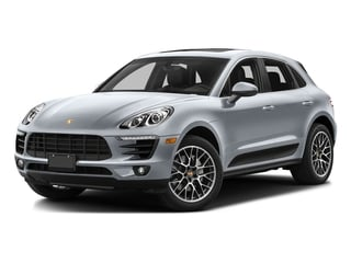 Rhodium Silver Metallic 2016 Porsche Macan Pictures Macan Utility 4D AWD V6 Turbo photos front view