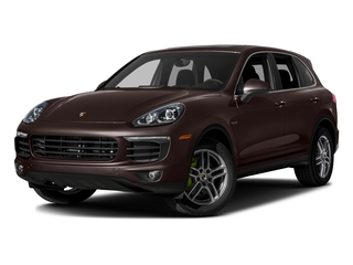 Mahogany Metallic 2016 Porsche Cayenne Pictures Cayenne Utility 4D S V6 e-Hybrid AWD photos front view