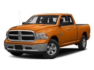 Omaha Orange 2016 Ram Truck 1500 Pictures 1500 Quad Cab SLT 4WD photos front view