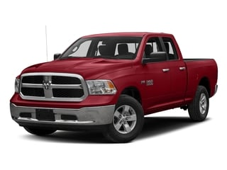Flame Red Clearcoat 2016 Ram Truck 1500 Pictures 1500 Quad Cab SLT 4WD photos front view