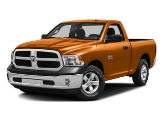 Omaha Orange 2016 Ram Truck 1500 Pictures 1500 Regular Cab SLT 4WD photos front view
