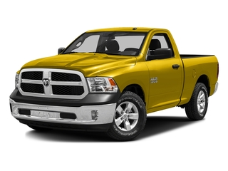 Yellow 2016 Ram Truck 1500 Pictures 1500 Regular Cab SLT 2WD photos front view