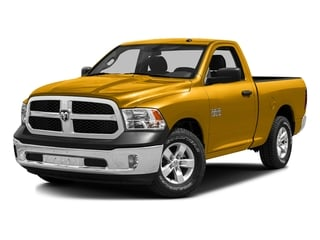 Construction Yellow 2016 Ram Truck 1500 Pictures 1500 Regular Cab SLT 2WD photos front view