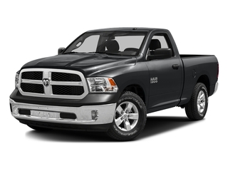 Granite Crystal Metallic Clearcoat 2016 Ram Truck 1500 Pictures 1500 Regular Cab SLT 2WD photos front view