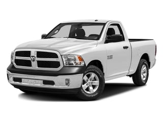 Bright White Clearcoat 2016 Ram Truck 1500 Pictures 1500 Regular Cab SLT 2WD photos front view
