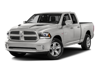 Bright Silver Metallic Clearcoat 2016 Ram Truck 1500 Pictures 1500 Quad Cab Sport 2WD photos front view