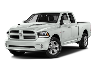 Bright White Clearcoat 2016 Ram Truck 1500 Pictures 1500 Quad Cab Sport 2WD photos front view