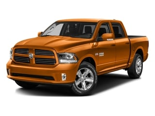 Omaha Orange 2016 Ram Truck 1500 Pictures 1500 Crew Cab Express 2WD photos front view