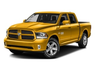 Construction Yellow 2016 Ram Truck 1500 Pictures 1500 Crew Cab Outdoorsman 4WD photos front view