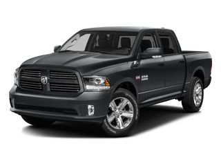 Granite Crystal Metallic Clearcoat 2016 Ram Truck 1500 Pictures 1500 Crew Cab Sport 2WD photos front view