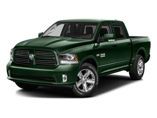 Timberline Green Pearlcoat 2016 Ram Truck 1500 Pictures 1500 Crew Cab Outdoorsman 4WD photos front view
