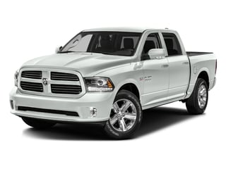 Bright White Clearcoat 2016 Ram Truck 1500 Pictures 1500 Crew Cab Express 2WD photos front view