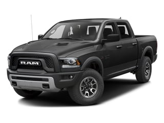 Brilliant Black Crystal Pearlcoat 2016 Ram Truck 1500 Pictures 1500 Crew Cab Rebel 4WD photos front view