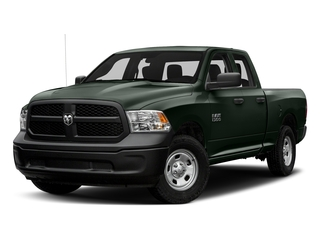Black Forest Green Pearlcoat 2016 Ram Truck 1500 Pictures 1500 Quad Cab Tradesman 2WD photos front view