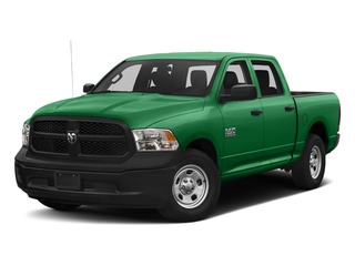 Bright Green 2016 Ram Truck 1500 Pictures 1500 Crew Cab Tradesman 2WD photos front view
