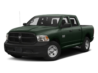 Black Forest Green Pearlcoat 2016 Ram Truck 1500 Pictures 1500 Crew Cab Tradesman 2WD photos front view