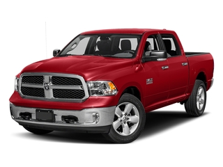 Bright Red 2016 Ram Truck 1500 Pictures 1500 Crew Cab SLT 2WD photos front view