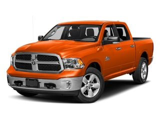 Omaha Orange 2016 Ram Truck 1500 Pictures 1500 Crew Cab SLT 2WD photos front view