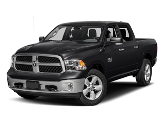 Black Clearcoat 2016 Ram Truck 1500 Pictures 1500 Crew Cab SLT 2WD photos front view