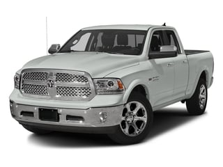Bright White Clearcoat 2016 Ram Truck 1500 Pictures 1500 Quad Cab Laramie 2WD photos front view