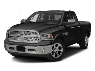 Brilliant Black Crystal Pearlcoat 2016 Ram Truck 1500 Pictures 1500 Quad Cab Laramie 2WD photos front view