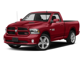 Flame Red Clearcoat 2016 Ram Truck 1500 Pictures 1500 Regular Cab Sport 4WD photos front view
