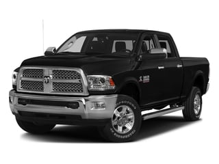 Brilliant Black Crystal Pearlcoat 2016 Ram Truck 2500 Pictures 2500 Crew Cab Laramie 2WD photos front view
