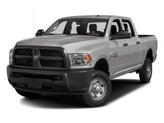 Bright Silver Metallic Clearcoat 2016 Ram Truck 2500 Pictures 2500 Crew Cab Tradesman 2WD photos front view