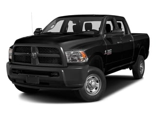 Black Clearcoat 2016 Ram Truck 2500 Pictures 2500 Crew Cab Tradesman 4WD photos front view