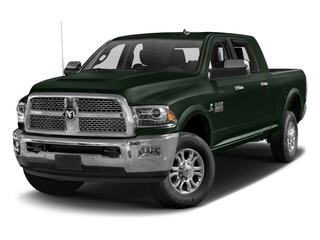 Black Forest Green Pearlcoat 2016 Ram Truck 2500 Pictures 2500 Mega Cab Laramie 4WD photos front view