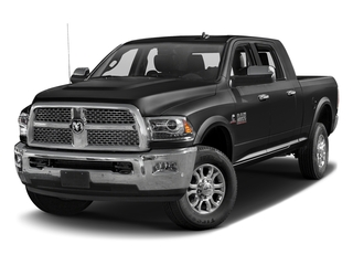 Brilliant Black Crystal Pearlcoat 2016 Ram Truck 2500 Pictures 2500 Mega Cab Laramie 2WD photos front view