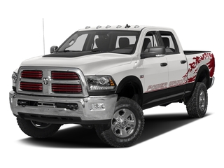 Bright Silver Metallic Clearcoat 2016 Ram Truck 2500 Pictures 2500 Crew Power Wagon SLT 4WD photos front view