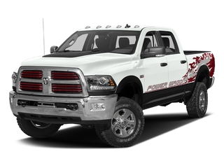 Bright White Clearcoat 2016 Ram Truck 2500 Pictures 2500 Crew Power Wagon SLT 4WD photos front view