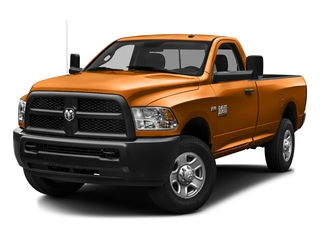 Omaha Orange 2016 Ram Truck 3500 Pictures 3500 Regular Cab SLT 2WD photos front view
