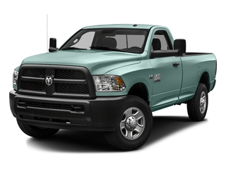 Light Green 2016 Ram Truck 3500 Pictures 3500 Regular Cab SLT 2WD photos front view