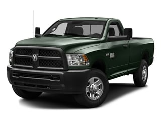 Black Forest Green Pearlcoat 2016 Ram Truck 3500 Pictures 3500 Regular Cab SLT 2WD photos front view