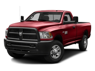 Flame Red Clearcoat 2016 Ram Truck 3500 Pictures 3500 Regular Cab SLT 2WD photos front view