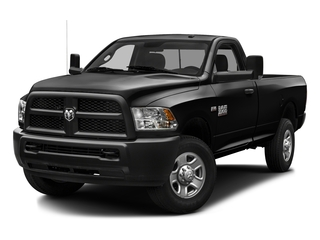 Brilliant Black Crystal Pearlcoat 2016 Ram Truck 3500 Pictures 3500 Regular Cab SLT 2WD photos front view