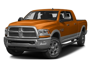 Omaha Orange 2016 Ram Truck 3500 Pictures 3500 Mega Cab SLT 2WD photos front view