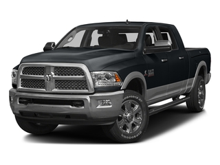 Maximum Steel Metallic Clearcoat 2016 Ram Truck 3500 Pictures 3500 Mega Cab Laramie 2WD photos front view