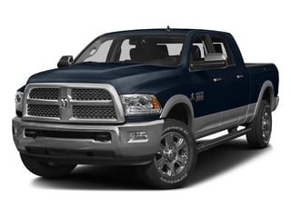 True Blue Pearlcoat 2016 Ram Truck 3500 Pictures 3500 Mega Cab Laramie 2WD photos front view