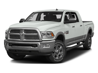 Bright White Clearcoat 2016 Ram Truck 3500 Pictures 3500 Mega Cab Laramie 2WD photos front view