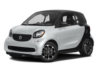 Moon White (matte) 2016 smart fortwo Pictures fortwo Coupe 2D Pure I3 photos front view