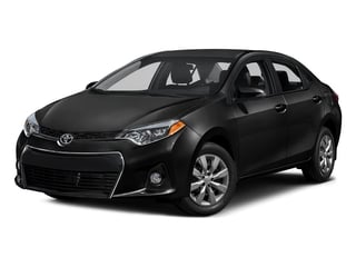 Black Sand Pearl 2016 Toyota Corolla Pictures Corolla Sedan 4D Special Edition I4 photos front view