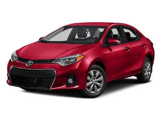 Absolutely Red 2016 Toyota Corolla Pictures Corolla Sedan 4D Special Edition I4 photos front view