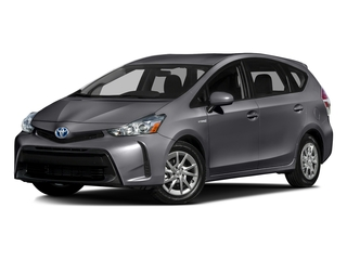 Magnetic Gray Metallic 2016 Toyota Prius v Pictures Prius v Liftback 5D v I4 Hybrid photos front view
