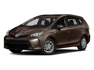 Toasted Walnut Pearl 2016 Toyota Prius v Pictures Prius v Liftback 5D v I4 Hybrid photos front view
